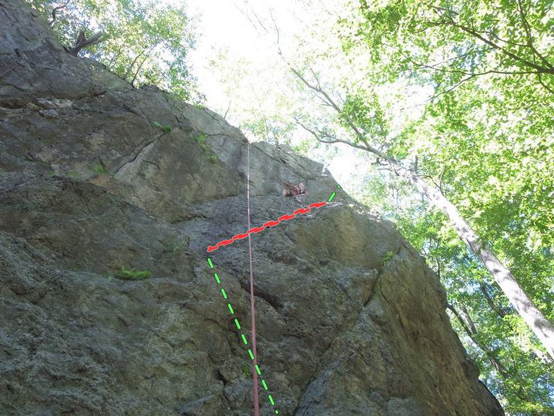 Fun Classic at Diamond ledge. good for beginner to intermediate climbing.