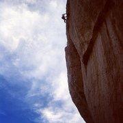Rock Climbing Photo: Dr. Doug on Da Illa Pilla