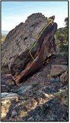 Rock Climbing Photo: Kick Drum Spooning problem beta.