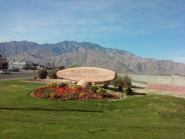 Palm Springs International Airport, Palm Springs