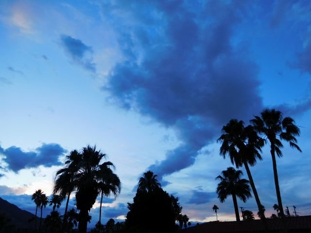 End of the day, Palm Springs