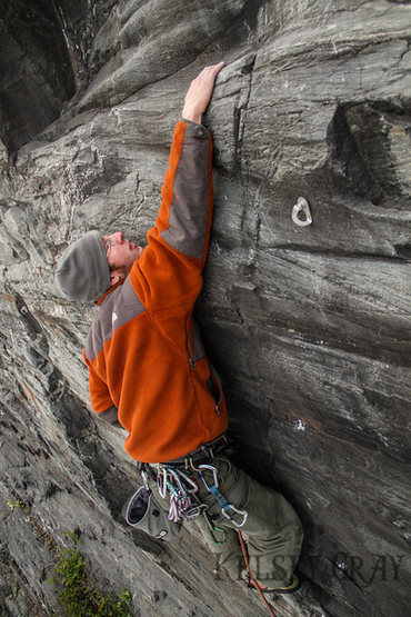 Lang enjoying some bolt clipping on The Sunny Side at last year's Rock Fest.  Lots of new routes the present this season at Panorama Point.