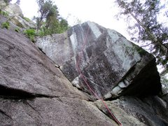Rock Climbing Photo: The start of Squamish Buttress.
