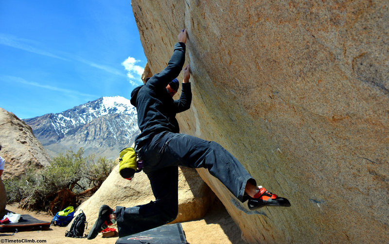 Melvin Rivera on Iron Man Traverse - www.TimetoClimb.com