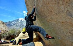Rock Climbing Photo: Melvin Rivera on Iron Man Traverse - timetoclimb.c...