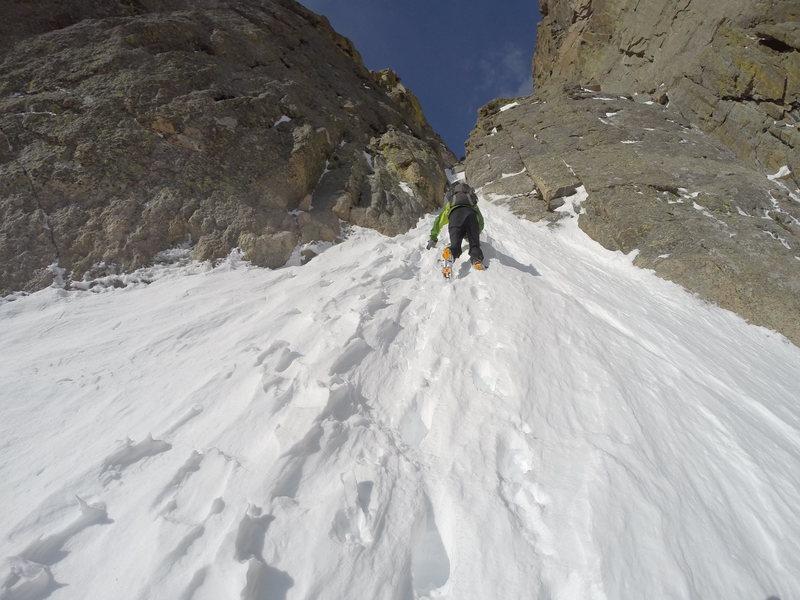 Rock Climbing Photo: Dreamweaver 5/14/2016, conditions lower down.