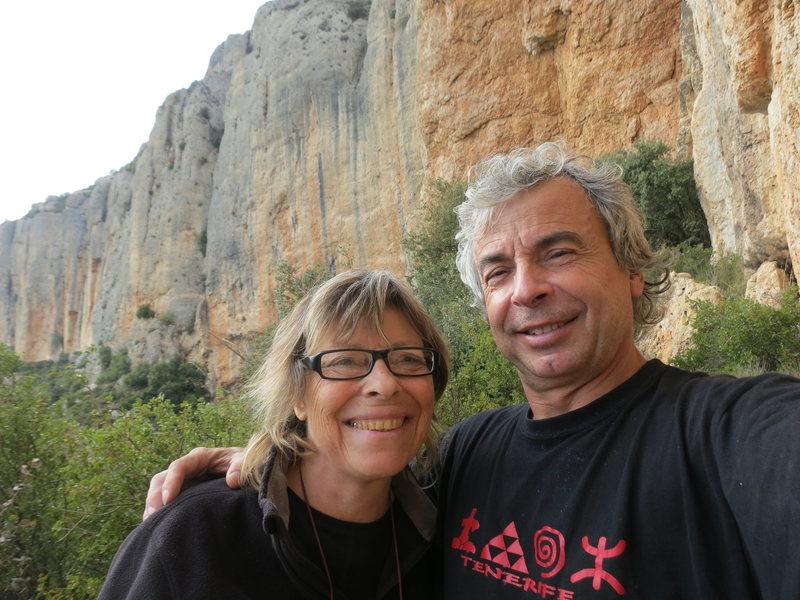 David and Paula en Spain