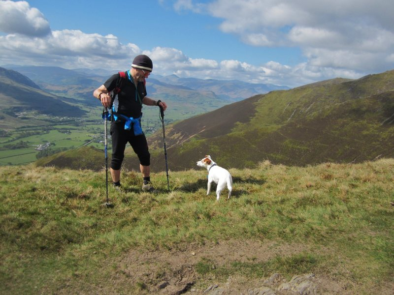 15th May on Blencathra Mt