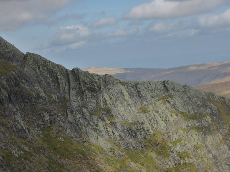 Sharp Edge a rocky ridge on Blencathra
