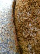 Rock Climbing Photo: The Woodson Thin!!!