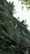 Nancy on Toucan. No flies up here!