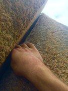 Rock Climbing Photo: lazer beam splitter!!!!