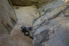 Rock Climbing Photo: The top portion of Ham.