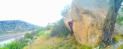 Rock Climbing Photo: SW Road Side Splittererrrrr!!!!