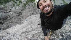 Rock Climbing Photo: Top of pitch 6
