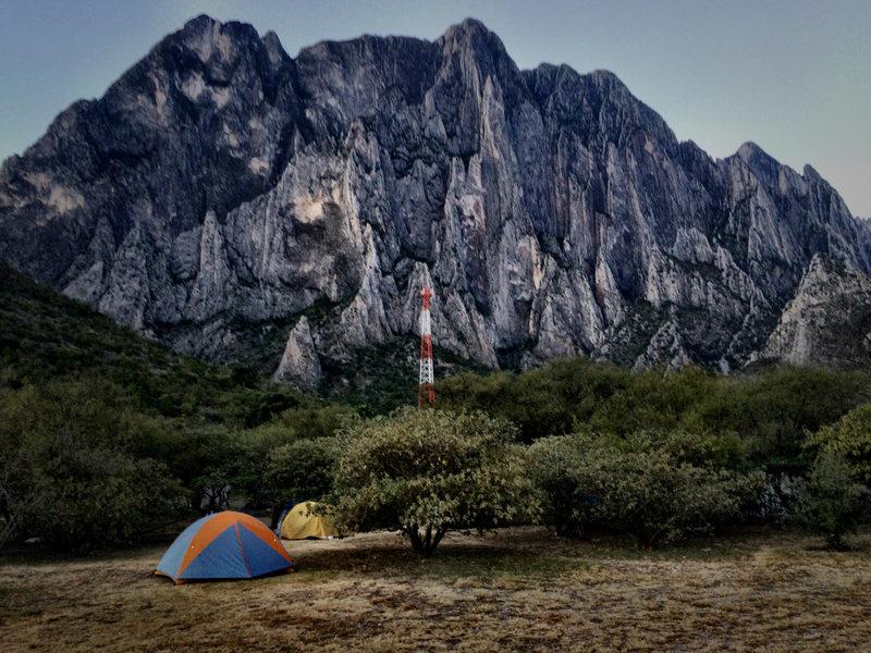 Rock Climbing Photo: El Potrero Chico, Mexico