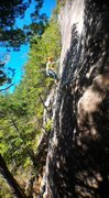 Rock Climbing Photo: Coming down Gama Route.