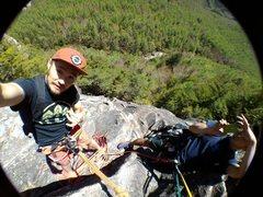 Rock Climbing Photo: Gama Final Pitches