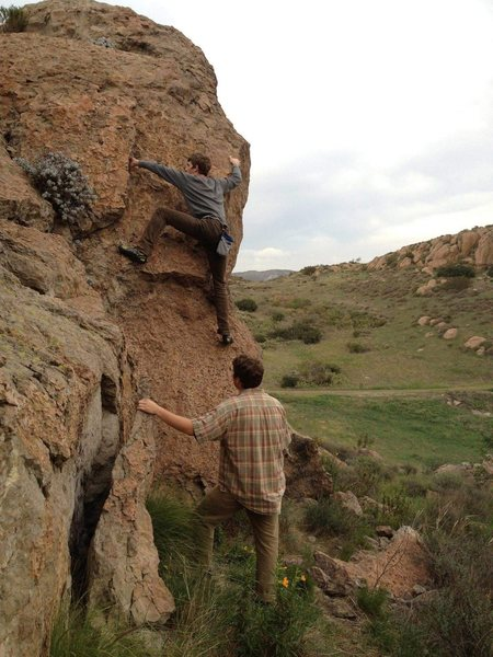 Rock Climbing Photo: Mitch 2012