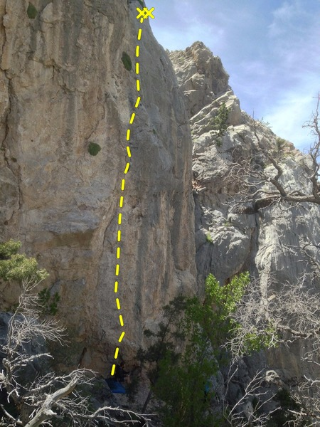 Rock Climbing Photo: Old Chub