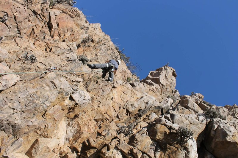 Rock Climbing Photo: Looking at the choss..