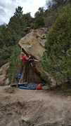 Rock Climbing Photo: This is a sweet climb!  Great variety of moves. Lo...