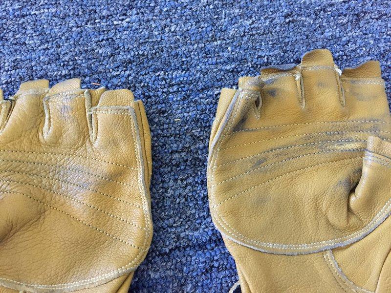 Rock Climbing Photo: gloves detail