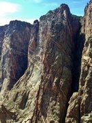 Rock Climbing Photo: Russian arete