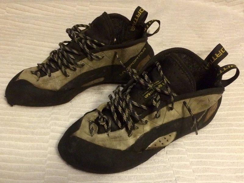 Rock Climbing Photo: Send Boots!