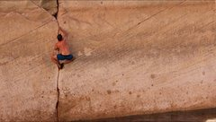 Rock Climbing Photo: Brent Butler finger splittin'