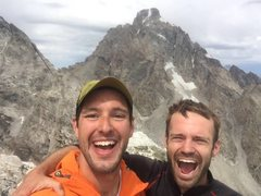 Finishing up Grand Traverse on Nez Perce with Taylor Luneau