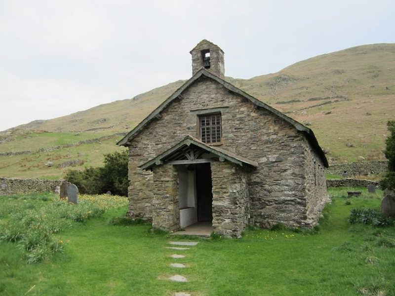 Rock Climbing Photo: St Martins Church in the valley of Martindale
