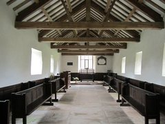 Rock Climbing Photo: Inside Martindale Church A church has been on this...