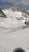 Skied The Trough Saturday. Halfway down.