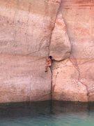 Rock Climbing Photo: Don't fall here!!!
