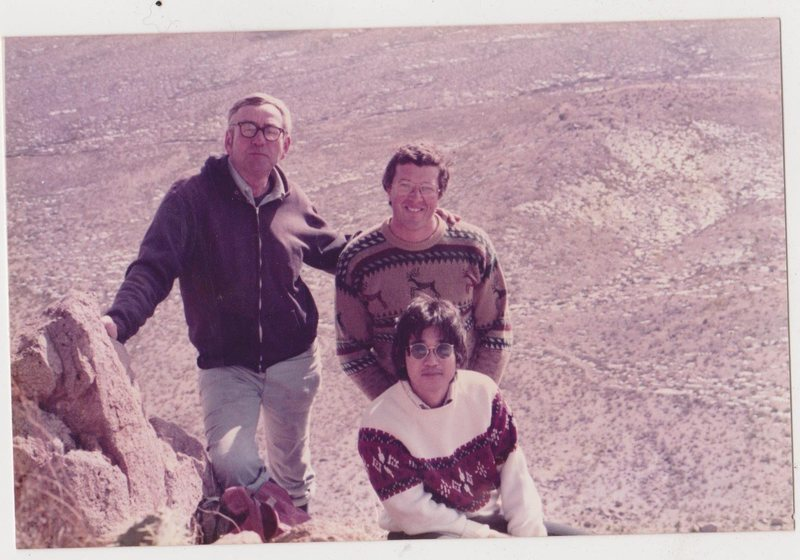 Dick Ingraham, Lee Davis and Clem Ota 1982