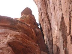 Rock Climbing Photo: Rob atop left spire