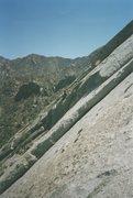 Rock Climbing Photo: East Slabs, probably Misty