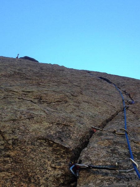 Rock Climbing Photo: the black canyon