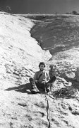 Rock Climbing Photo: Ingraham's Dihedral about 1974  photo by Roger Gui...