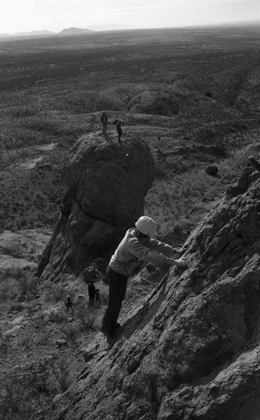 Rock Climbing Photo: Southwestern Mountaineers Training Day 1973  south...