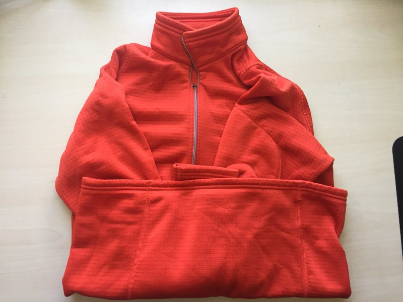 orange EMS fleece