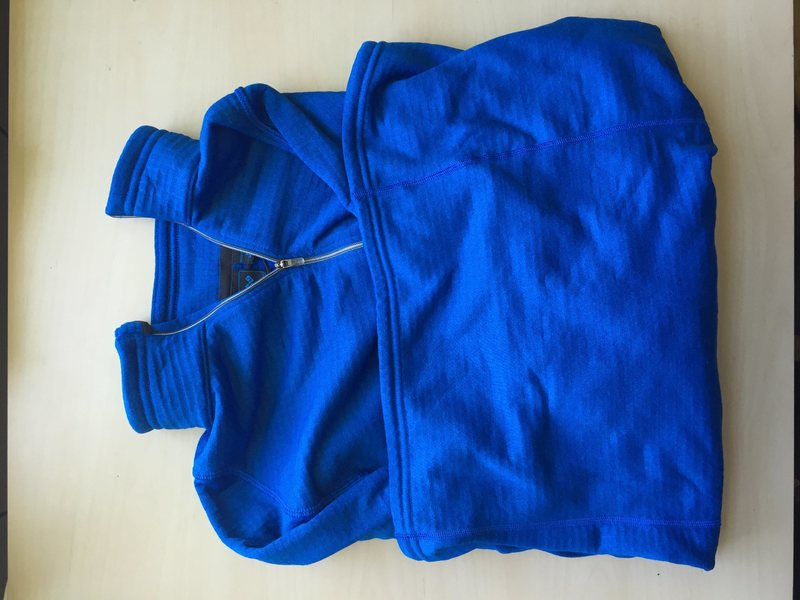 blue EMS fleece