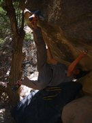 Rock Climbing Photo: kickin it Venghazi style. photo cred to Adachi Tom...