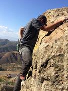 Rock Climbing Photo: Post explosion..