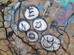 Rock Climbing Photo: Enjoy, Dixon Lake