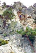 Rock Climbing Photo: Medicine Man Pillar, WOE!!!!!