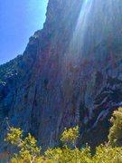 Rock Climbing Photo: Look close, WOE is Firing!!!