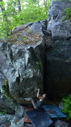Rock Climbing Photo: Clayton on the send