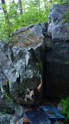 Rock Climbing Photo: Clayton